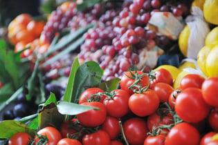 fresh healthy organic food  fruits and vegetables at market.jpeg